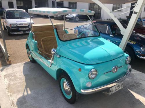 FIAT 500 JOLLY FERRANTI N°21